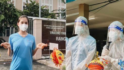 Tiểu Vy, Phương Anh mang Trung thu ấm áp đến với trẻ em đang bị cách ly trong vùng dịch