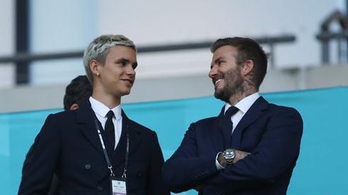 Romeo Beckham chính thức debut trên sân cỏ nối nghiệp người cha David Beckham