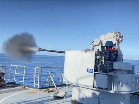 Singapore và Indonesia kết thúc tập trận hải quân Eagle Indopura