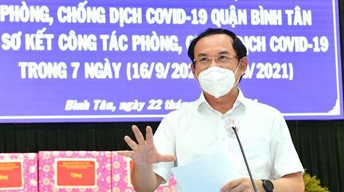Bí thư Thành ủy TPHCM Nguyễn Văn Nên: ''Yếu tố cần nhất để mở cửa trở lại chính là vaccine''
