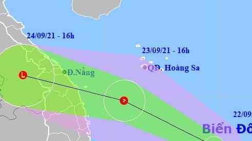 ATNĐ có thể mạnh lên thành bão, di chuyển nhanh, đi vào Thừa Thiên Huế - Bình Định
