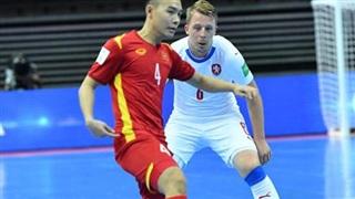 Tuyển futsal Việt Nam gặp Nga dễ thở hơn Tây Ban Nha
