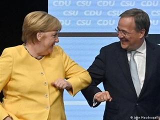 Đức: Thủ tướng Merkel huy động sự ủng hộ cho ứng cử viên Laschet