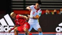 Futsal Việt Nam tranh vé vào tứ kết với đương kim á quân của giải