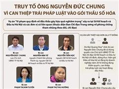 Toàn cảnh vụ truy tố ông Nguyễn Đức Chung trong gói thầu số hóa