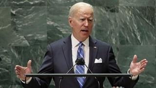 Ông Biden tuyên bố chống 'nước mạnh chèn ép nước yếu'