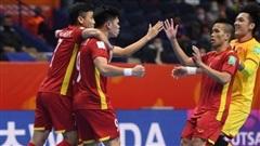 Đội tuyển futsal Việt Nam thua sát nút tuyển futsal Nga
