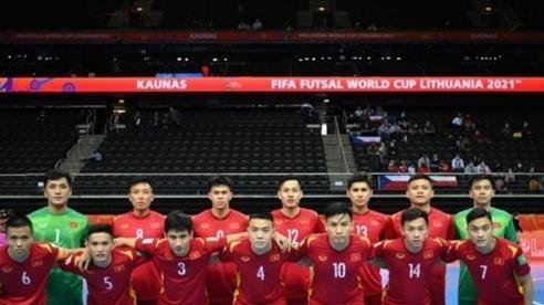 Đội tuyển Futsal Việt Nam nỗ lực thi đấu cao nhất khi gặp tuyển futsal Nga vào tối nay