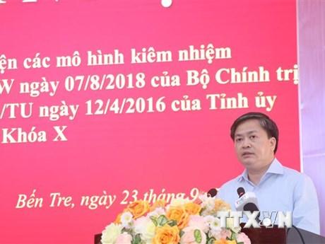 Toàn tỉnh Bến Tre có hơn 1.000 cán bộ lãnh đạo kiêm nhiệm