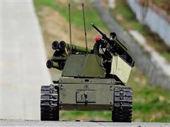Sửng sốt chứng kiến dàn robot của Nga xả đạn, bắn tên lửa