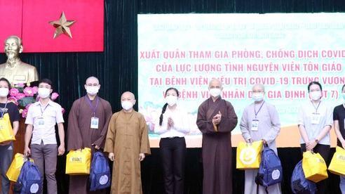 Thêm 19 tình nguyện viên tôn giáo tham gia tuyến đầu chống dịch