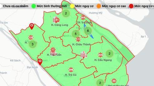 Trà Vinh trở thành địa phương 'vùng xanh'
