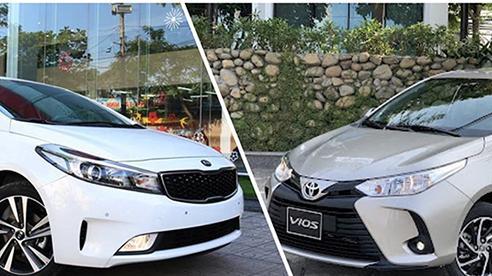 Với 550 triệu mua xe chạy dịch vụ, nên chọn Toyota Vios hay Kia Cerato?
