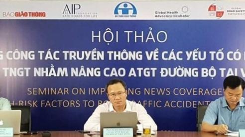 'Tầm nhìn không thương vong' vì tai nạn giao thông