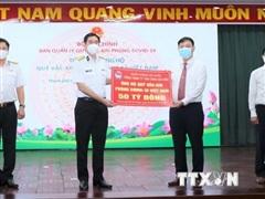 Tổng Công ty Tân cảng SG ủng hộ 50 tỷ đồng cho Quỹ vaccine