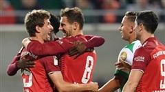 Bayern Munich vẫn thắng đậm dù thi đấu với 10 người