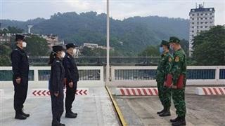 Tăng cường tuần tra liên hợp phòng, chống dịch trên biên giới Lào Cai