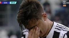Dybala đau đớn lau nước mắt rời sân vì chấn thương