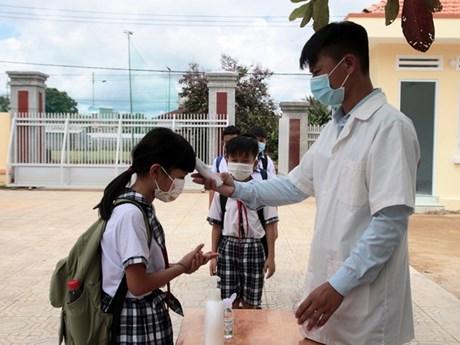 Lâm Đồng: Học sinh ở huyện duy nhất chưa có ca COVID-19 trở lại trường
