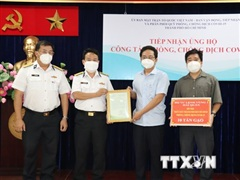TP.HCM tiếp nhận thiết bị y tế chống dịch trị giá hơn 37 tỷ đồng