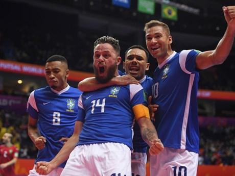 Brazil 'đại chiến' Argentina ở bán kết FIFA Futsal World Cup 2021