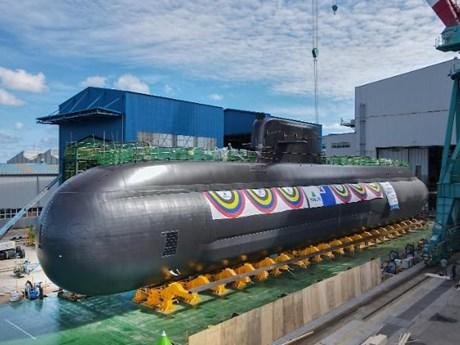 Hàn Quốc 'trình làng' tàu ngầm mới trang bị tên lửa đạn đạo