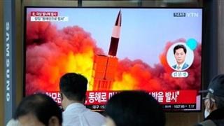 Vụ Triều Tiên thử tên lửa: Mỹ nói vi phạm, Hàn Quốc họp khẩn, Nhật Bản lo ngại