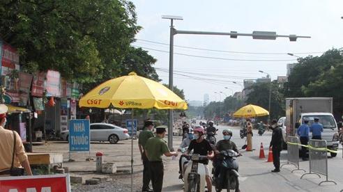 Hà Nội: Các chốt kiểm soát gần 20.000 lượt phương tiện, người ra vào nội đô tăng mạnh