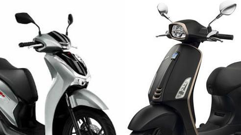 Gần 100 triệu chọn Honda SH 150i giá bán chênh hay Vespa Sprint S 150?