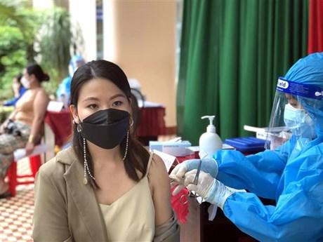 Bình Định: Quy Nhơn tiêm vaccine phòng COVID-19 diện rộng