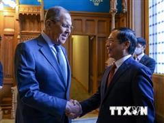 'Việt Nam là đối tác quan trọng trong chính sách đối ngoại của Nga'