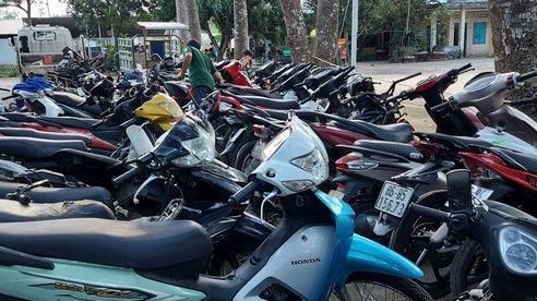 Đột nhập kho xe máy 'khủng' do trộm cắp ở Bình Thuận