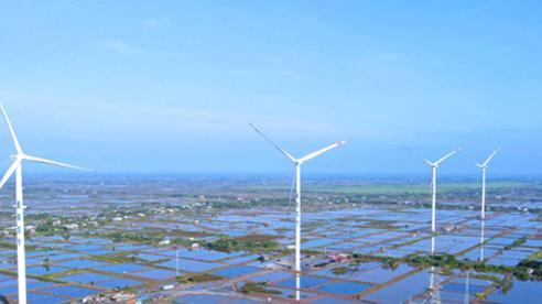 Nhà máy Điện gió Kosy Bạc Liêu hoàn thành lắp đặt tuabin