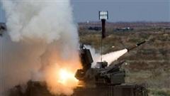 Phòng không Nga tiêu diệt thiết bị bay của khủng bố ở Syria