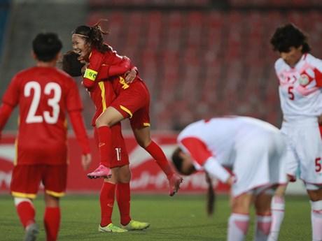 Đội tuyển nữ Việt Nam giành vé dự vòng chung kết Asian Cup 2022