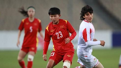 Tuyển nữ Việt Nam vùi dập Tajikistan 7-0, đoạt vé dự giải vô địch châu Á 2022