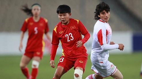 Đè bẹp Tajikistan, tuyển nữ Việt Nam vào VCK Asian Cup 2022