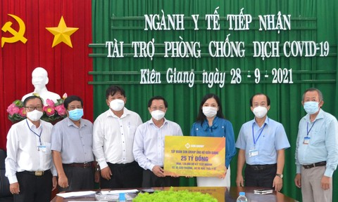 Sun Group tặng gói hỗ trợ đợt 3 trị giá 25 tỷ đồng, tiếp sức Kiên Giang