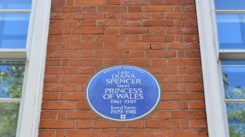 Căn hộ cũ ở London của Công nương Diana trở thành một địa điểm du lịch