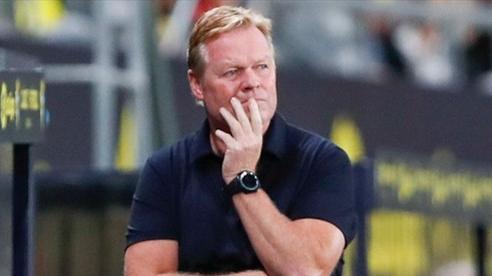 Barcelona thảm bại trước Benfica: HLV Ronald Koeman thừa nhận nguy cơ bị sa thải