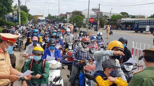 Quảng Nam chính thức nới lỏng đi lại với Đà Nẵng