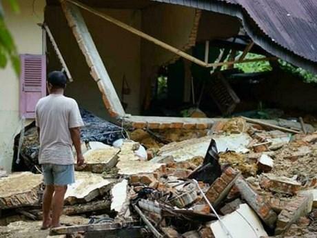 Mưa bão gây lở đất tại Indonesia, ít nhất 7 người thiệt mạng