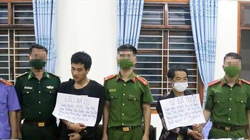 Nghệ An: Phá chuyên án ma túy, bắt 2 đối tượng, thu giữ số lượng lớn tang vật