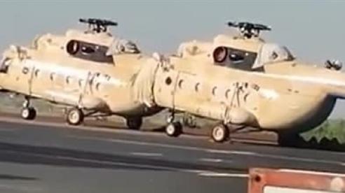 Nga chuyển trực thăng cho Mali