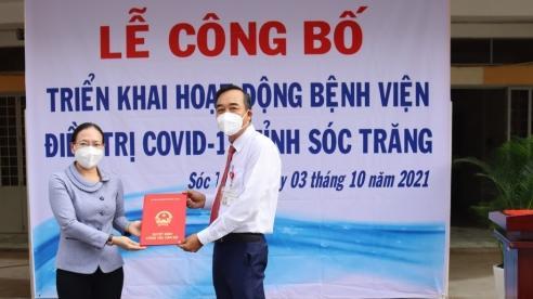 Bệnh viện điều trị COVID-19 tỉnh Sóc Trăng được đưa vào hoạt động