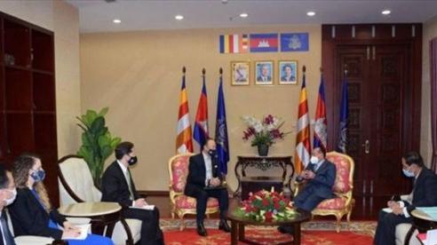 Campuchia: Biển Đông cần là 'vùng biển hòa bình và an ninh'