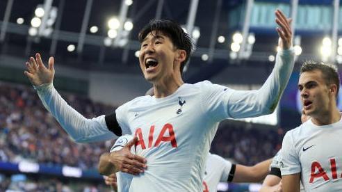 Son Heung Min lập cú đúp kiến tạo giúp Tottenham thắng kịch tính Aston Villa
