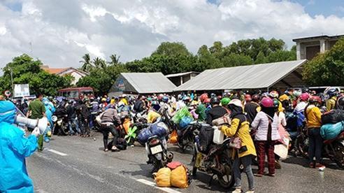 Quảng Bình chuẩn bị 'cơm ăn, nước uống' hỗ trợ người dân trở về từ các tỉnh, thành phía Nam