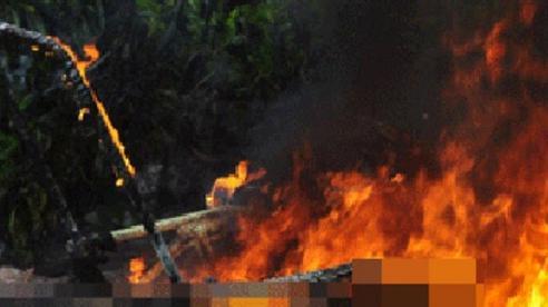 Hai vợ chồng chết cháy bất thường