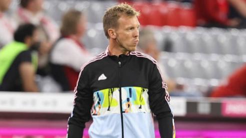 Bayern Munich thua sốc, HLV Julian Nagelsmann nhận trách nhiệm về mình